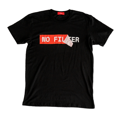 No Filter Applique Tee