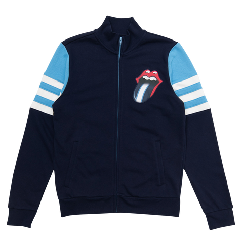 Rolling Stones Nashville Event Striped Sleeve Track Jacket