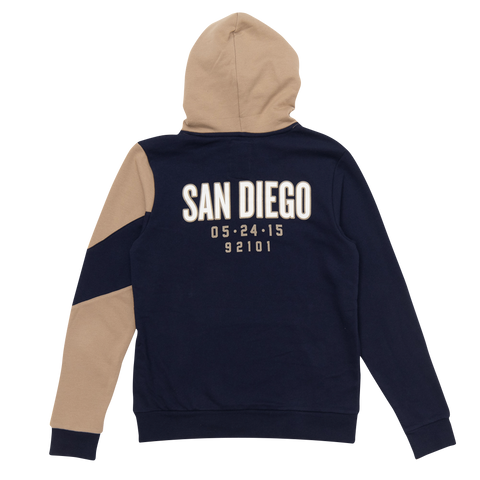 Rolling Stones San Diego Event Color Block Pullover Hoodie