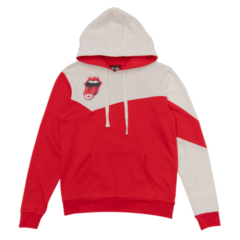Rolling Stones Milwaukee Event Color Block Pullover Hoodie