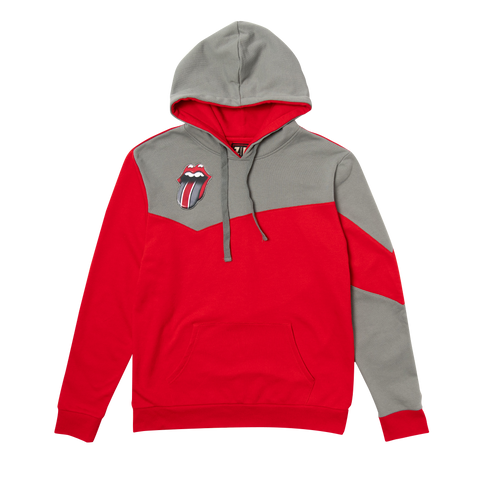Rolling Stones Columbus Color Block Pullover Hoodie