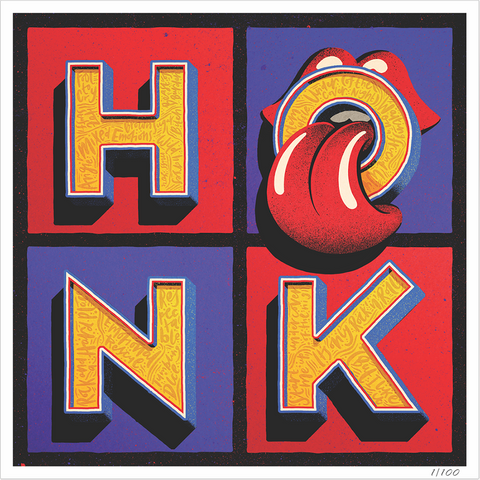 Honk Limited Edition Numbered Lithograph
