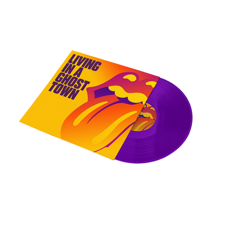 "Living In A Ghost Town Purple 10"" Vinyl"