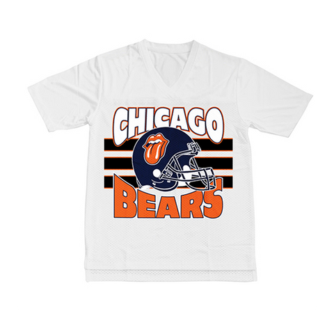 Chicago Bears White Fashion Jersey
