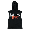 Trevor Andrew x Stones Black Hooded Top