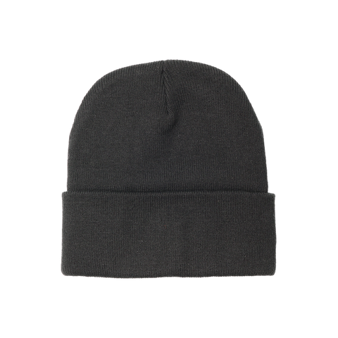 Black on Black Beanie