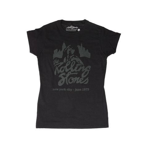 Black on Black Ladies T-Shirt