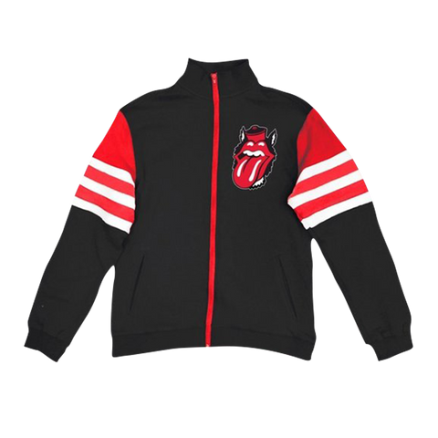 Rolling Stones Raleigh Event Striped Sleeve Track Jacket