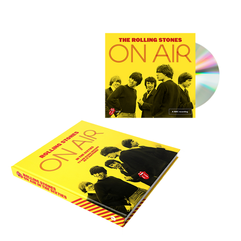 Limited Edition On Air CD + Hardback Book