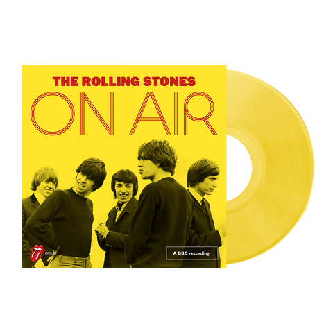 Limited Edition Deluxe On Air Yellow LP
