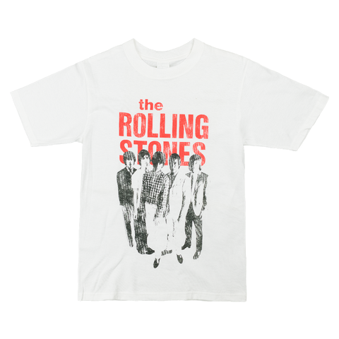 Rolling Stones Stand Up White T-Shirt