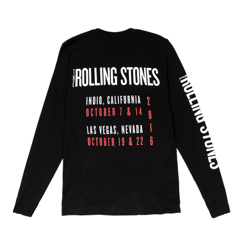 Rolling Stones Long Sleeve Tour Shirt