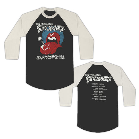 Pin Tongue Europe '82 T-Shirt