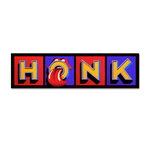 Honk Bumper Sticker