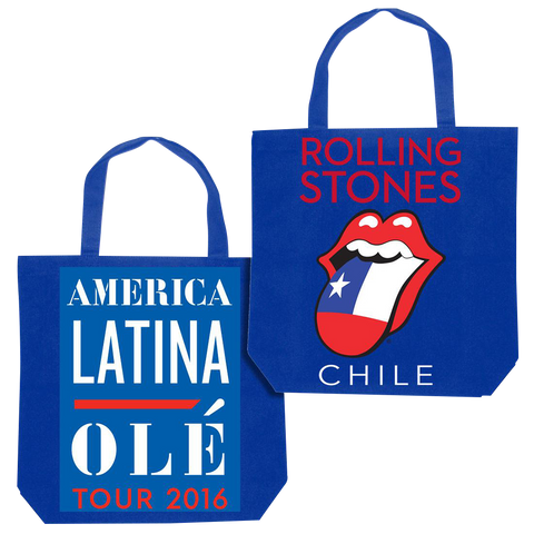 RS Chile Flag Tongue Tote