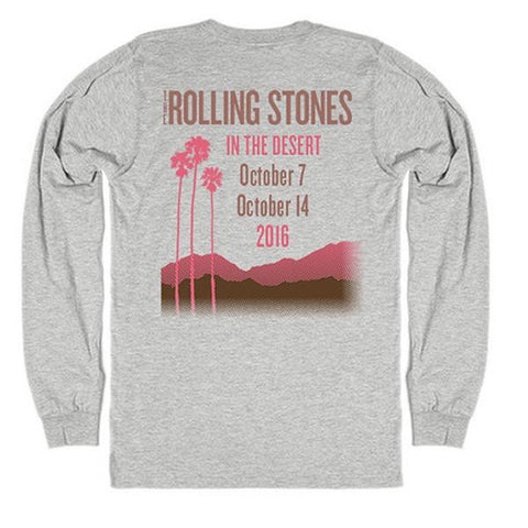 Rolling Stones In The Desert Long Sleeve T-Shirt