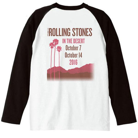 Rolling Stones In The Desert Raglan