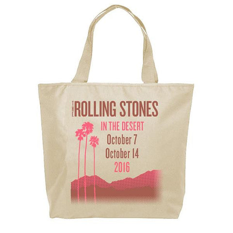 Rolling Stones In The Desert Bag