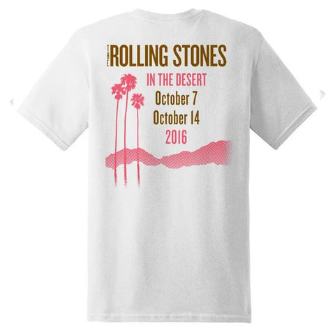 Rolling Stones White In The Desert T-Shirt