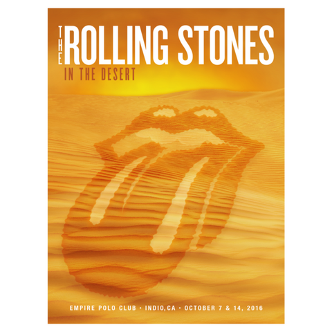 Rolling Stones Desert Trip Lithograph