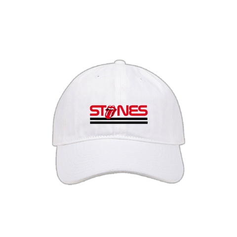 Rolling Stones Rock White Hat