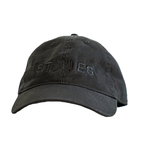 Black on Black Stones Hat