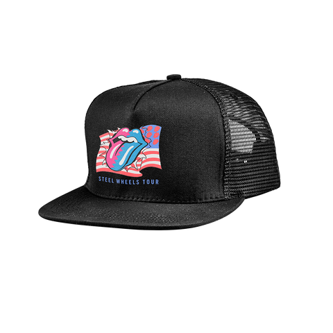 Steel Wheels Trucker Hat