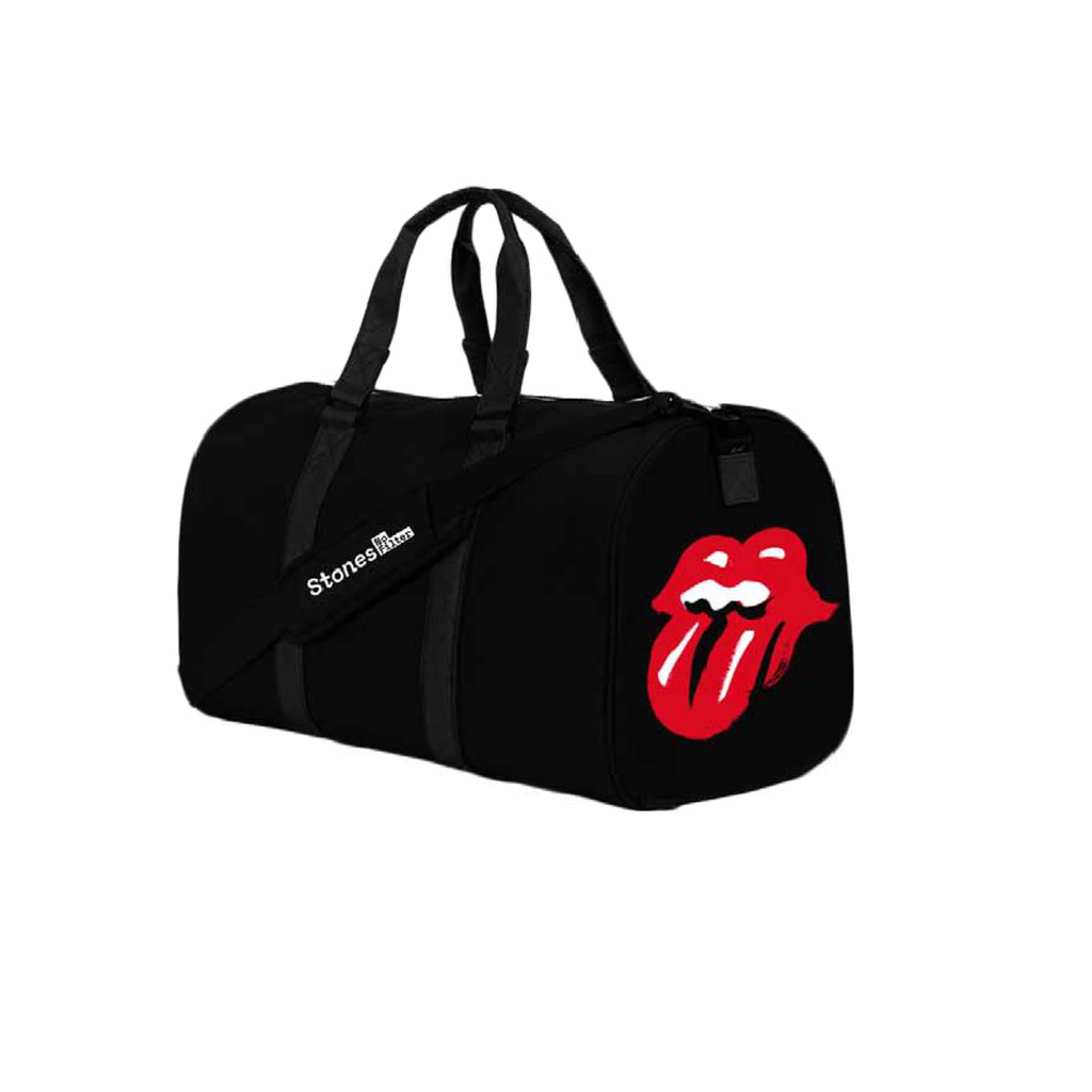 No Filter The Rolling Stones Tas Lacoste Zip Basic Special Colours Black Duffle Bag
