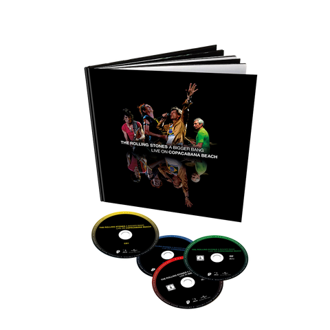 A Bigger Bang Live On Copacabana Beach 2DVD/2CD Deluxe Edition