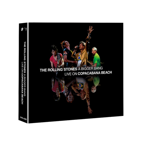 A Bigger Bang Live On Copacabana Beach DVD + 2CD