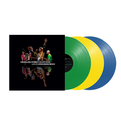 A Bigger Bang Live On Copacabana Beach 3LP Limited Edition