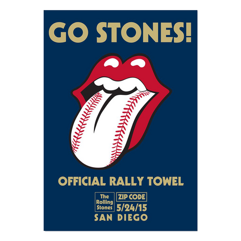 Rolling Stones San Diego Rally Towel