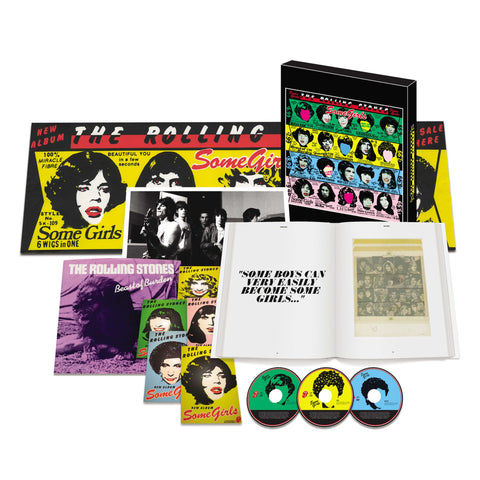 Some Girls Super Deluxe CD Box Set