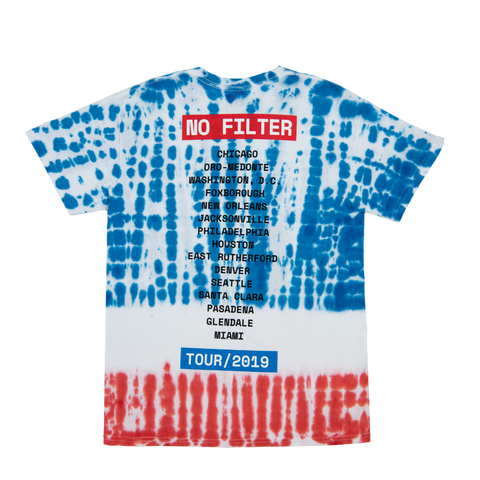 No Filter Youth Tie Dye T-Shirt
