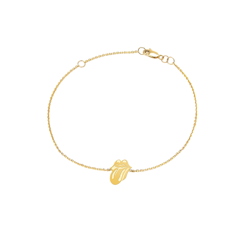 Gold Classic Tongue Bracelet