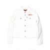 Ladies Levi's White Denim Jacket