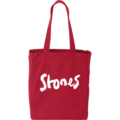 Brush Stroke Red Tote Bag
