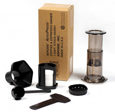 Aeropress Coffee Brewer. Simple. Portable. Contrabean