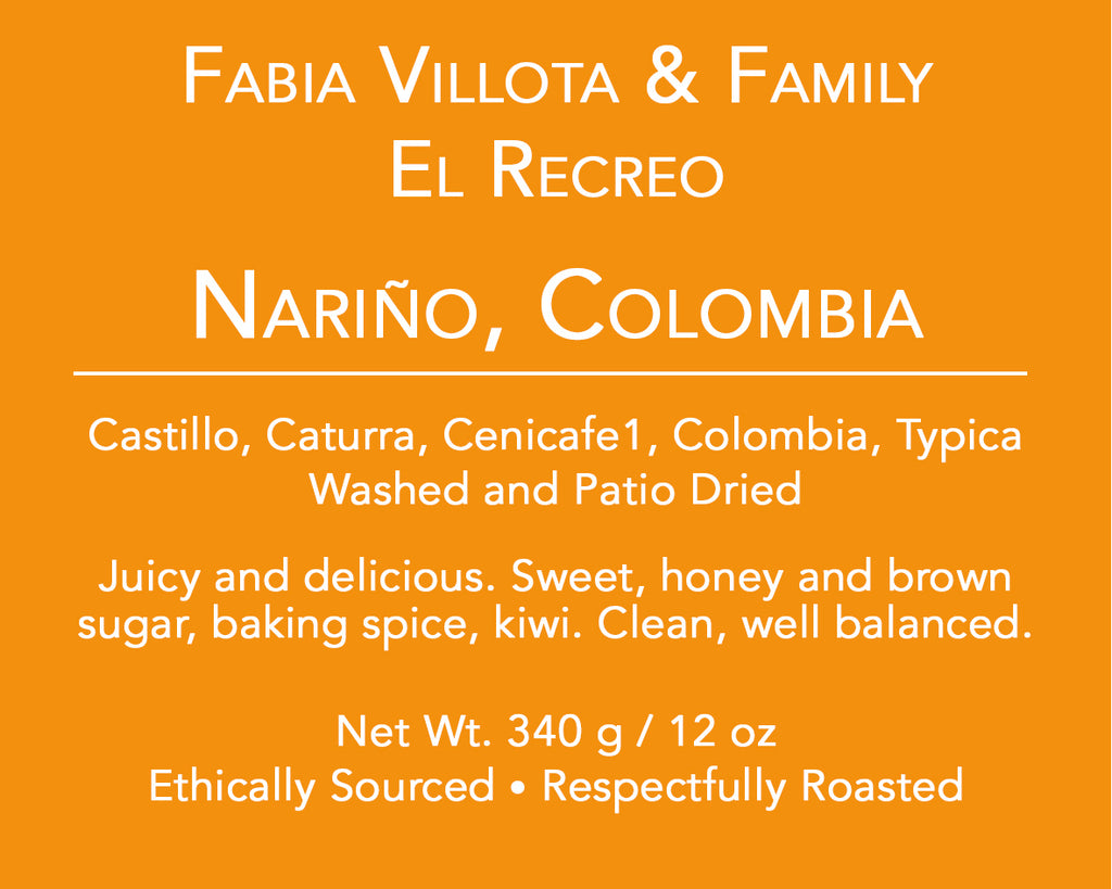Fabian Villota and Family, Narino, Colombia