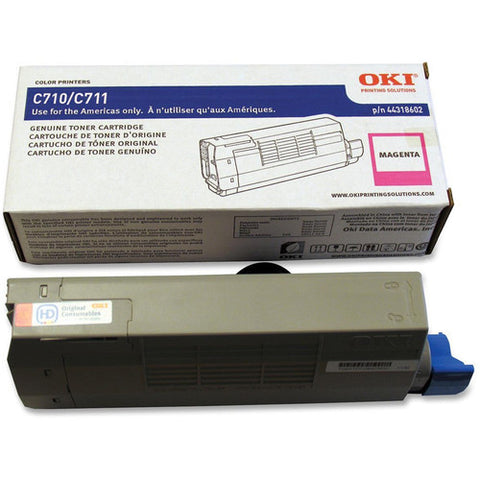 Genuine OKI Brand C710, C711 44250710 Toner Cartridge Magenta