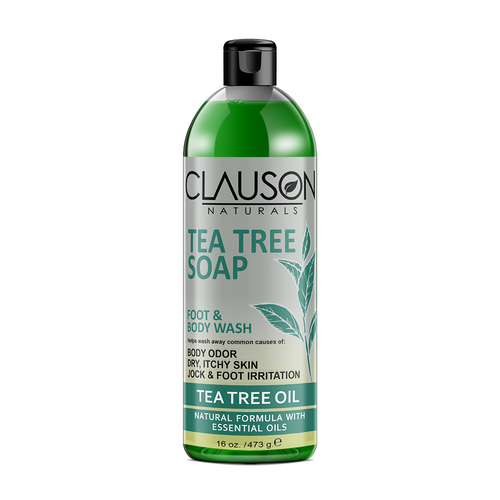 Organic Tea Tree Oil Body Wash