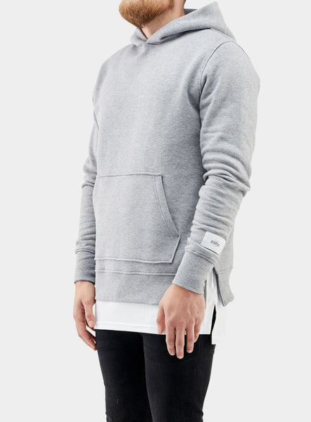 Essential Hoodie Heather Grey