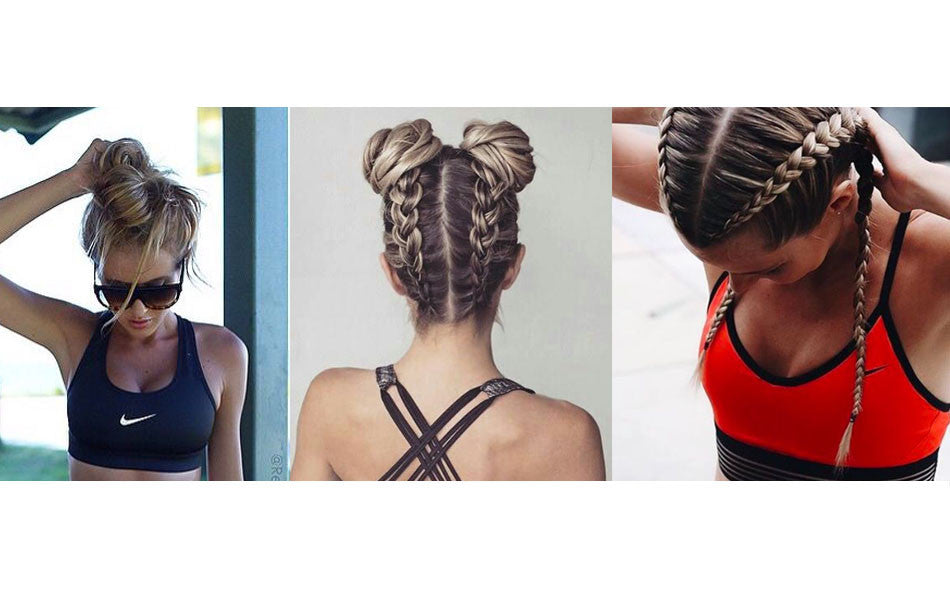 Best gym hairstyles & post workout hair saviours