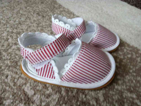 Laced Baby Shoes