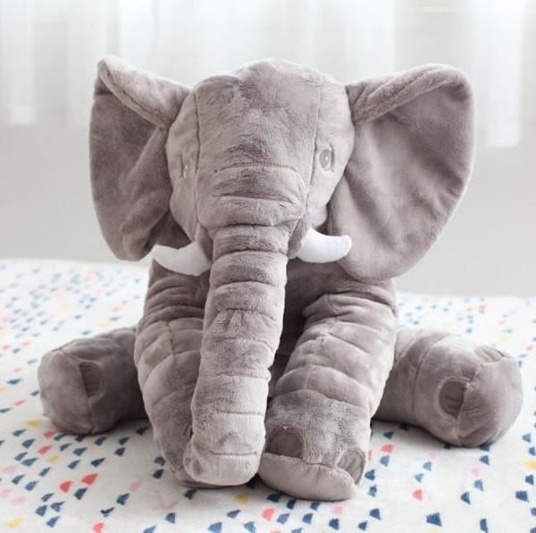 Big Elephant Soft Sleep Pillow - Toys - Kids Town