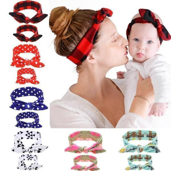 Mommy & Me Matching Cotton Headbands - Baby Clothing - Kids Town