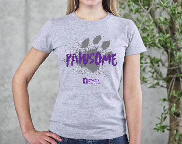 Pawsome! T-Shirt (LADIES)