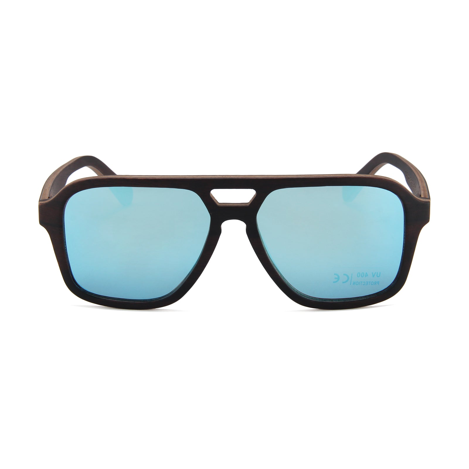 Ebony Wood Apache (Full Frame with Ice Blue REVO Lens)