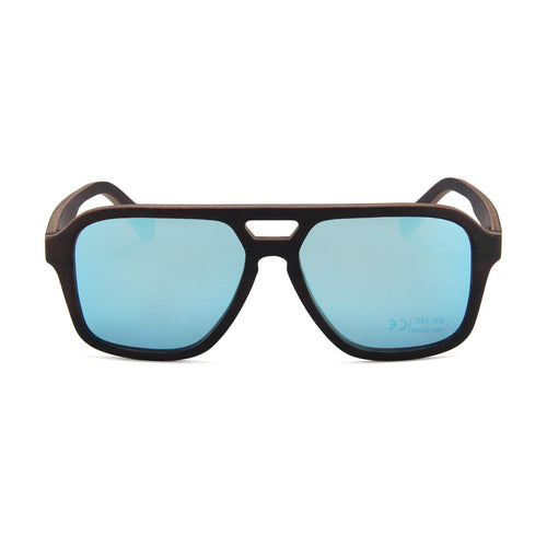 Ebony Wood Apache (Full Frame with Ice Blue Lens)