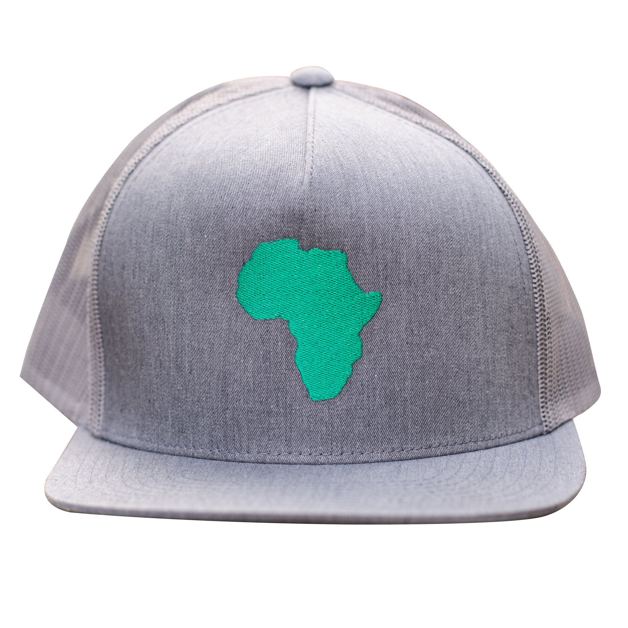 ThisGuy Classic Trucker Cap - Africa (Heather Grey)